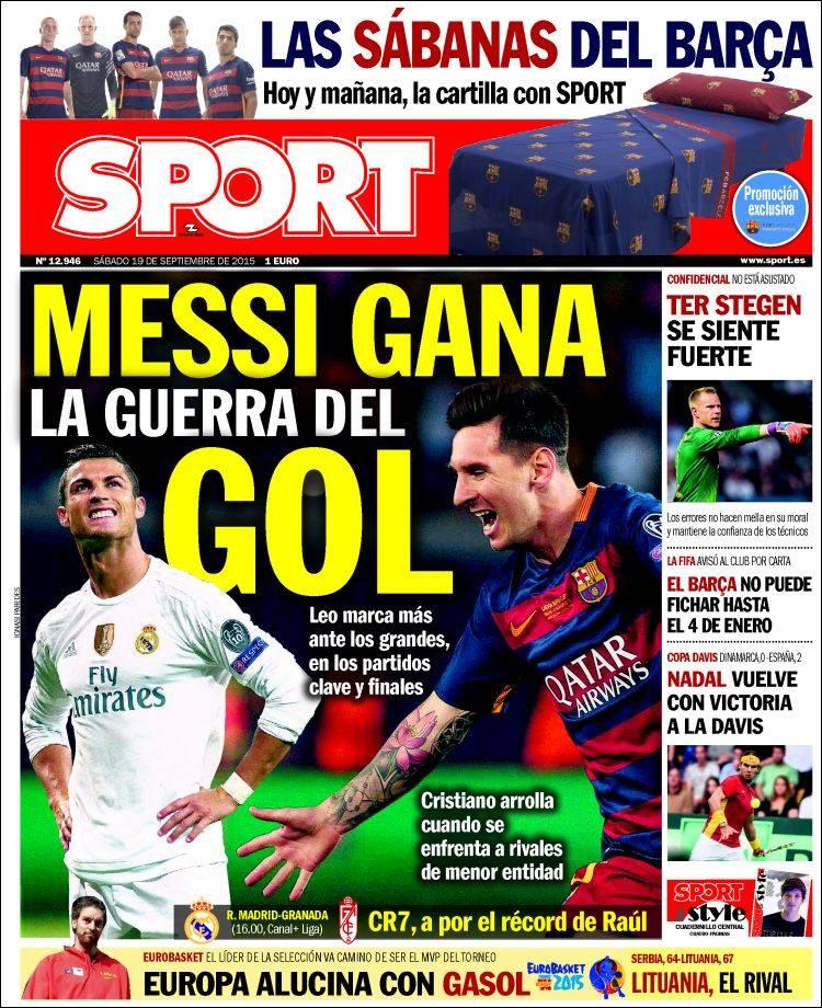 Sport Portada 19.09.15