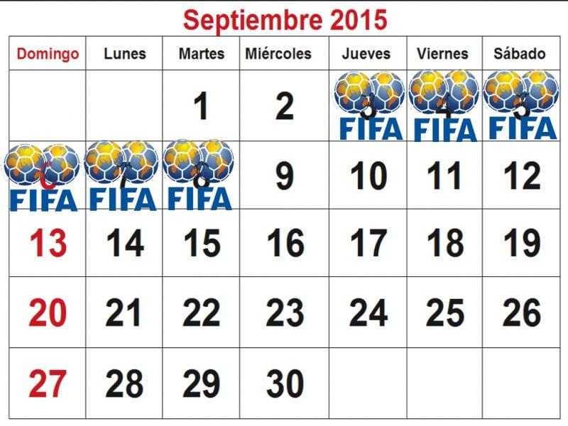 Calendario FIFA