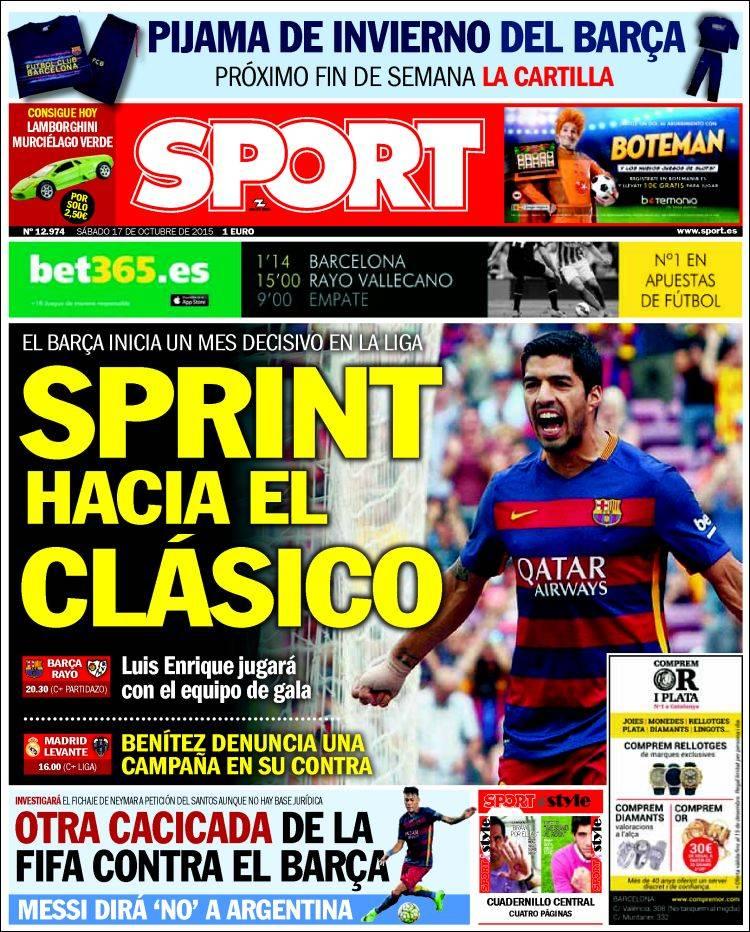 Sport Portada 17.10.15