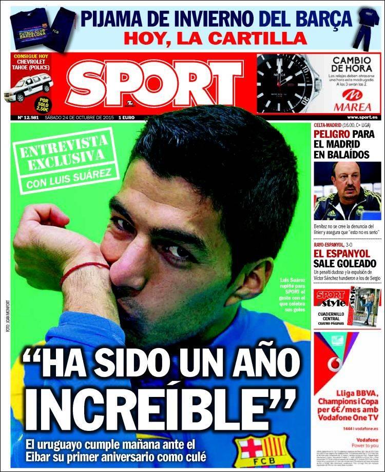 Sport Portada 24.10.15