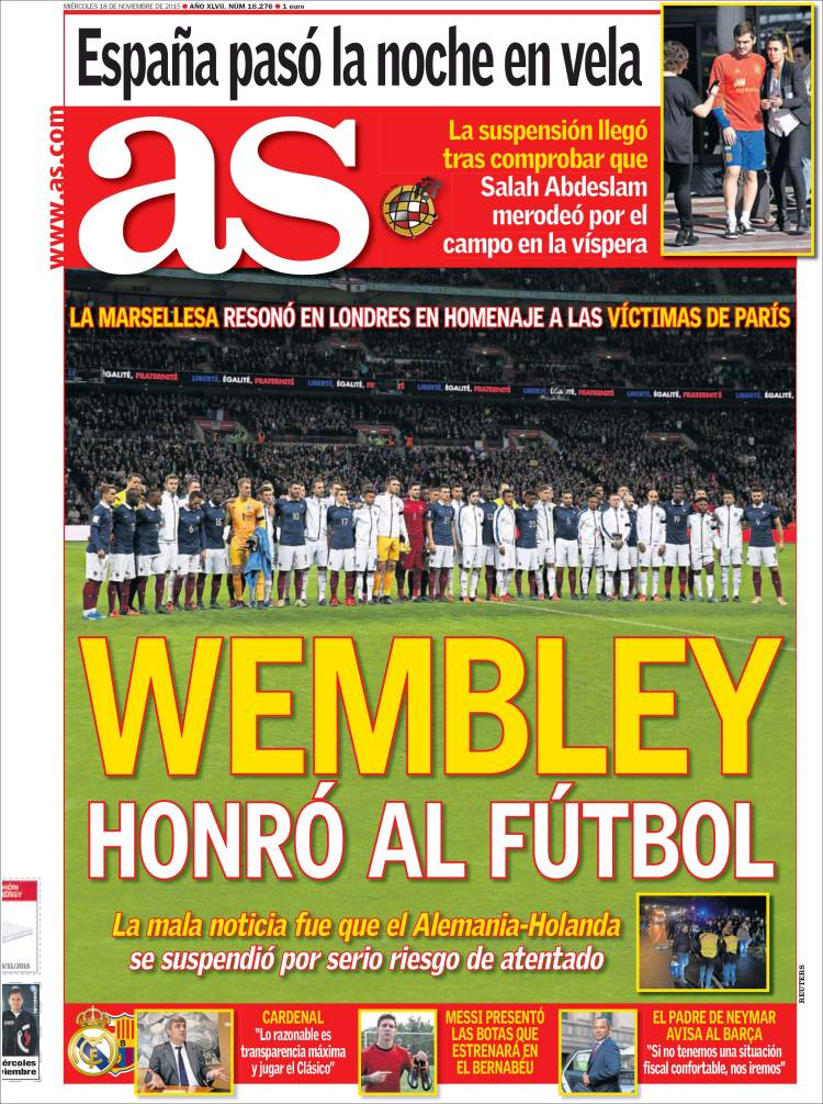 as wembley marsellesa