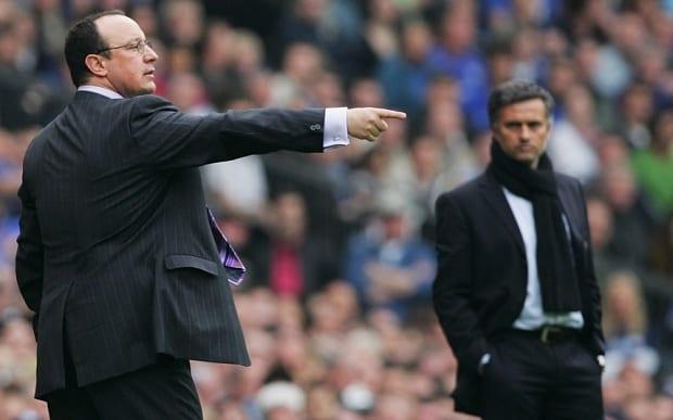 benitez y mourinho