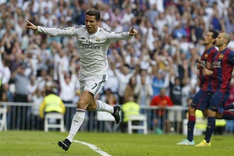 cr celebra gol contra fcb