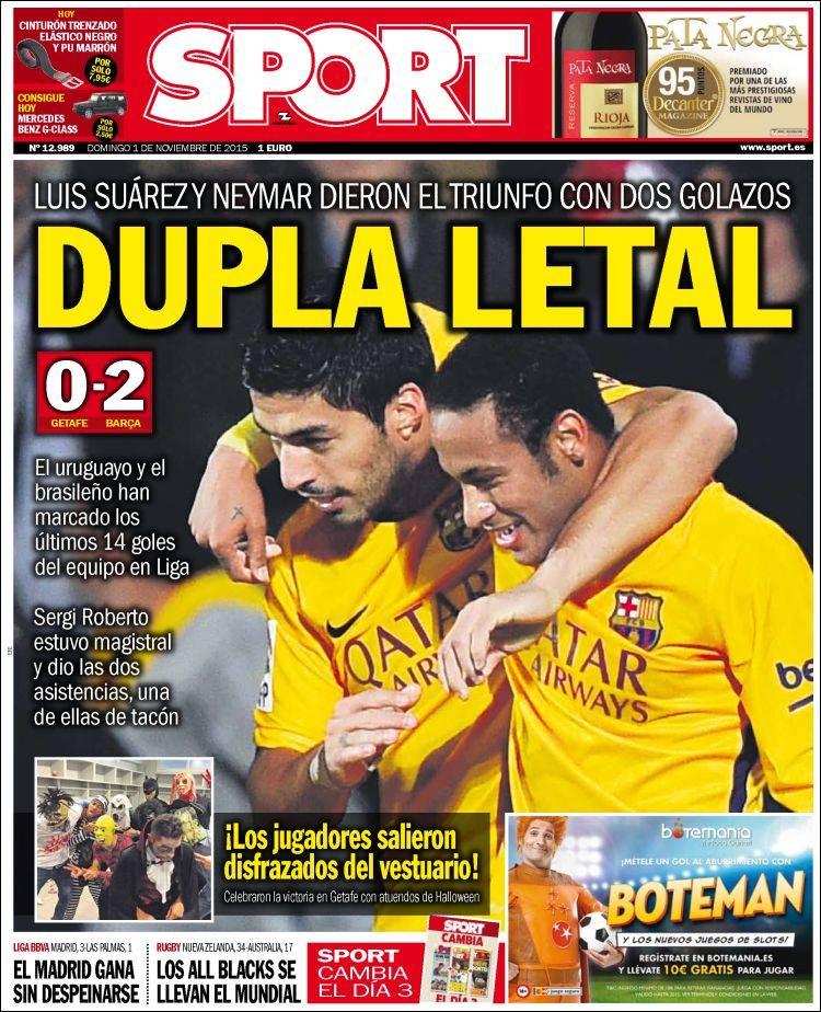 Sport Portada 01.11.15