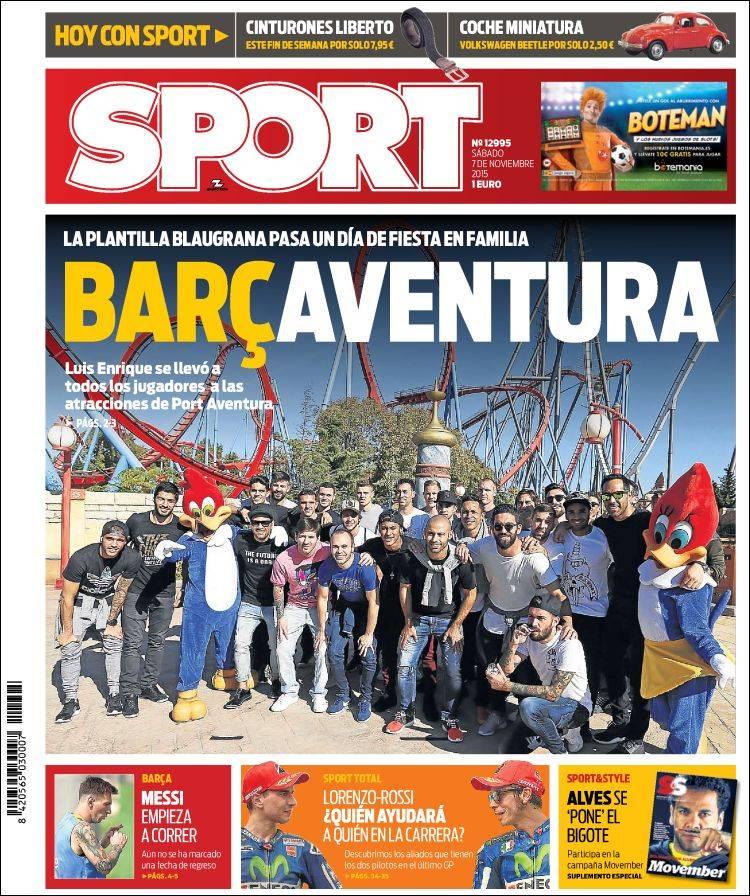 Sport Portada 07.11.15