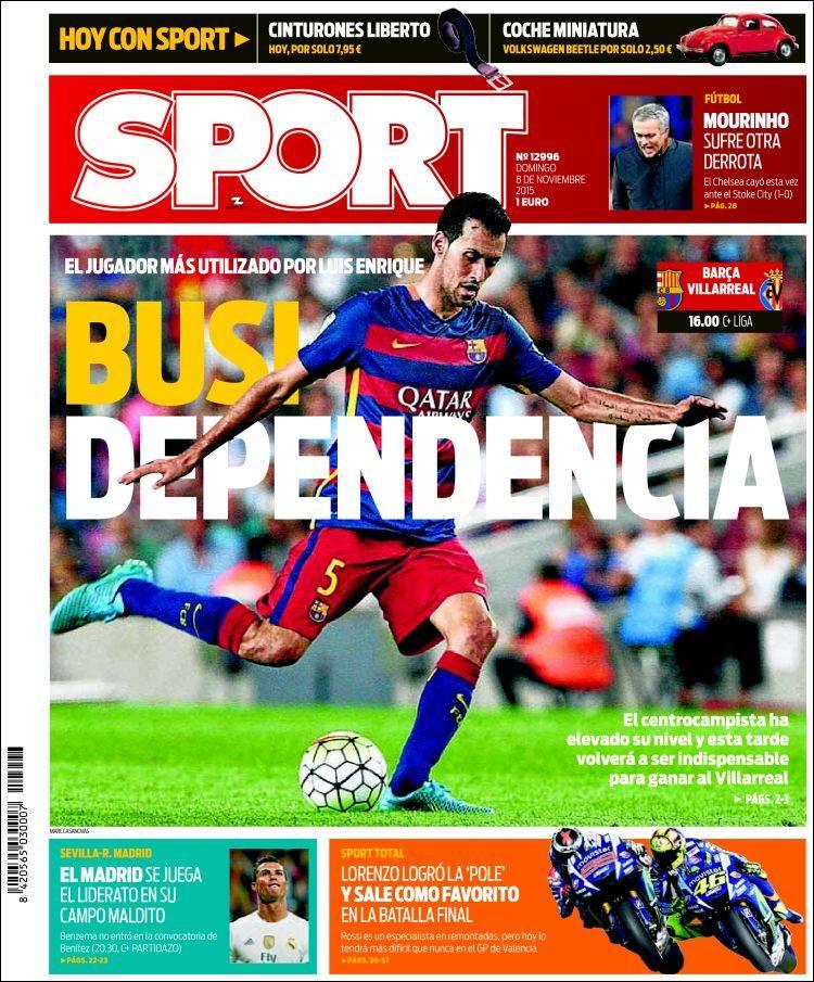 Sport Portada 08.11.15