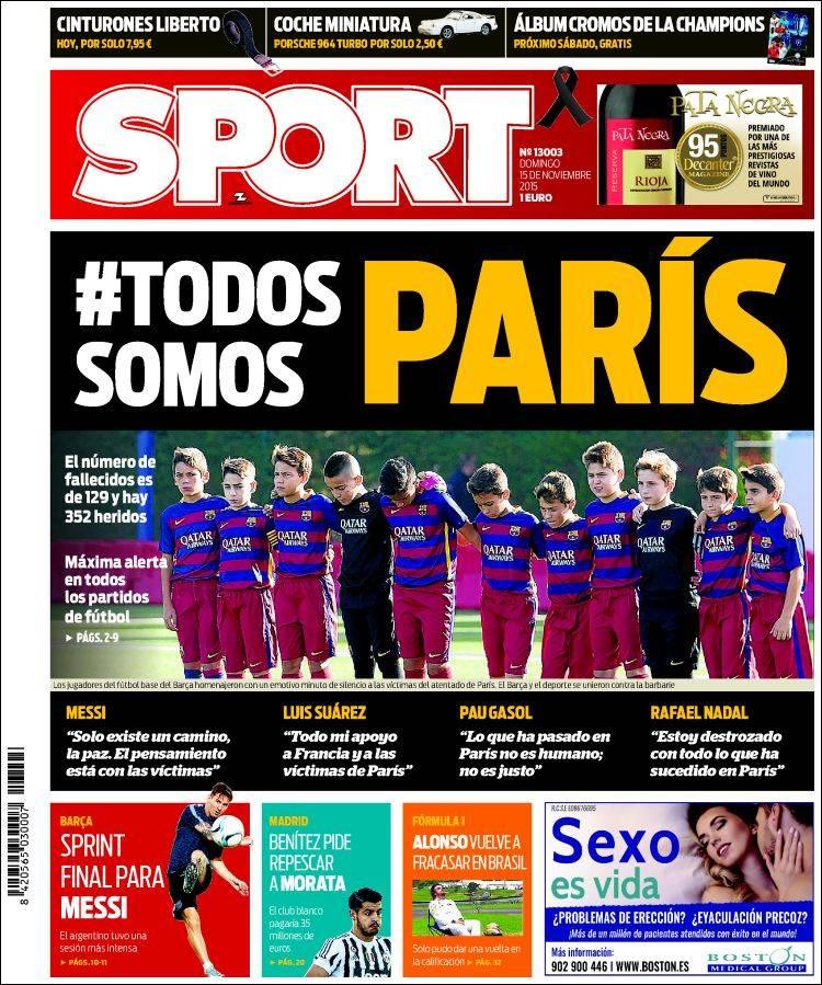 Sport Portada 15.11.15