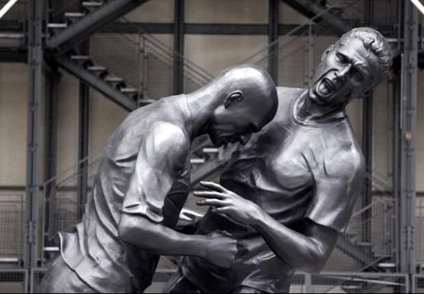 estatua cabezazo zidane