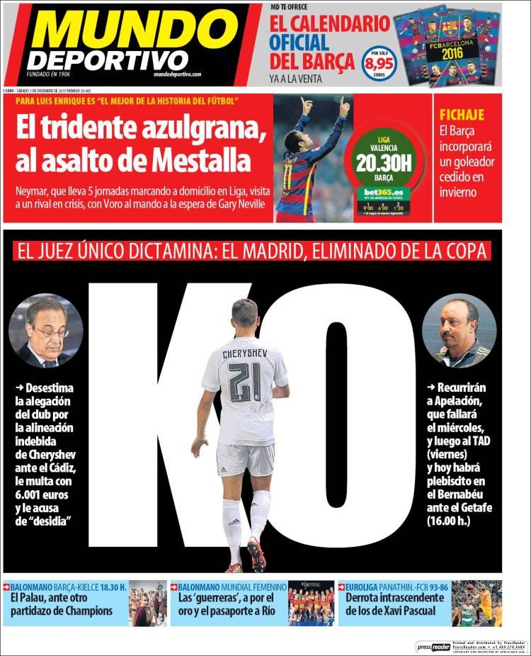 Mundo Deportivo 05.12.15