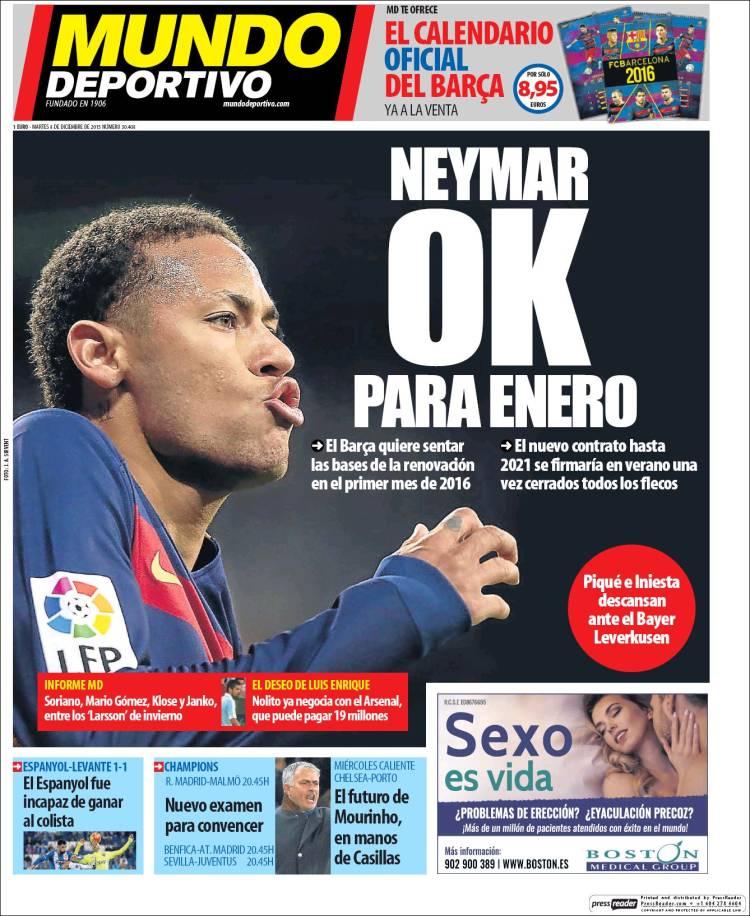 Mundo Deportivo 08.12.15