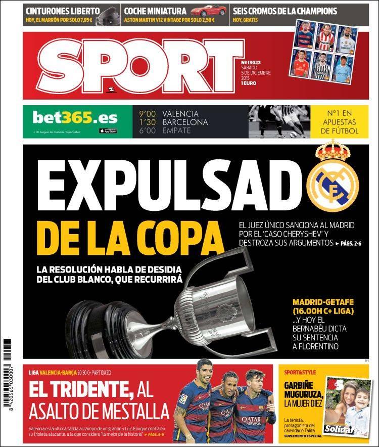 Sport Portada 05.12.15