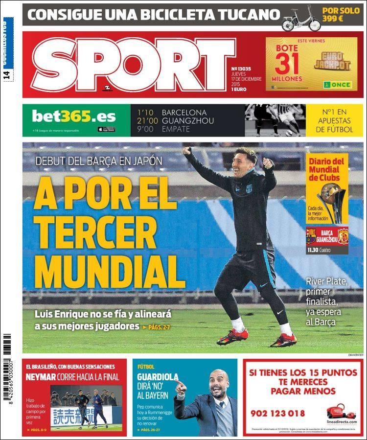 Sport Portada 17.12.15