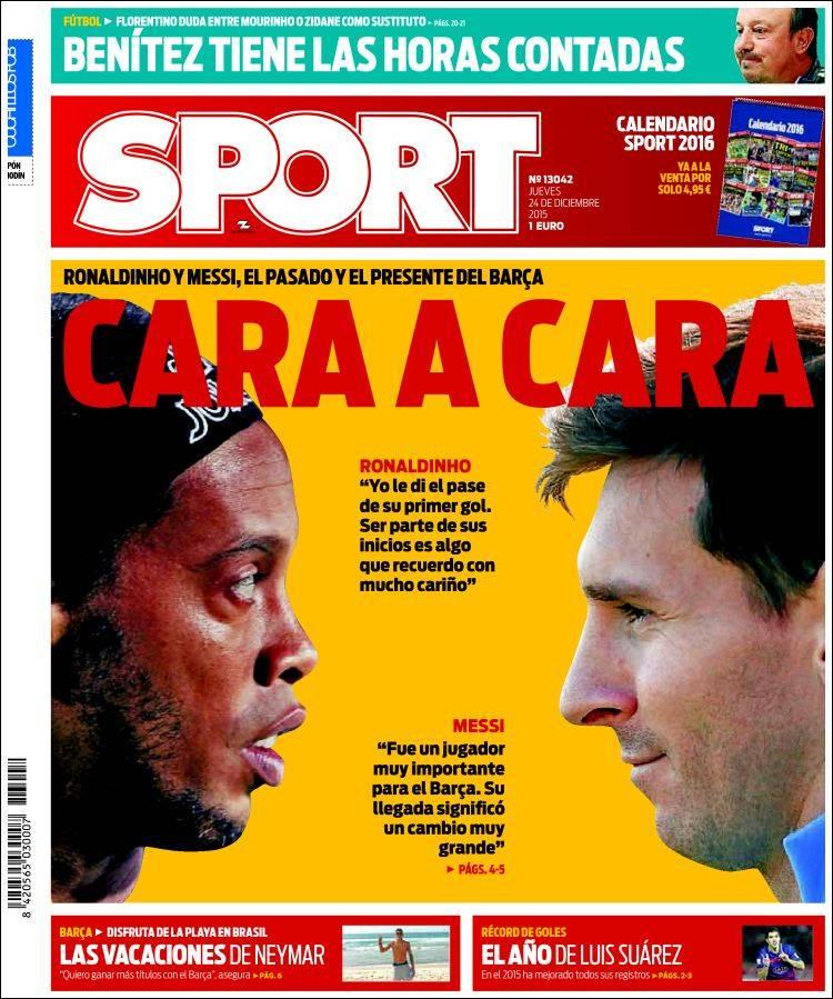 Portada Sport 24.12.15