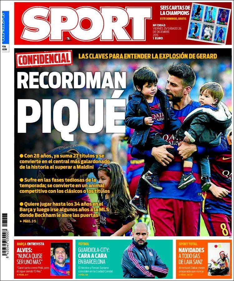 Sport Portada 26.12.15