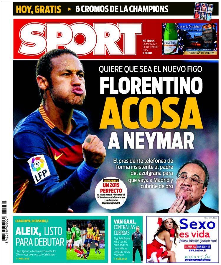 Sport Portada 27.12.15