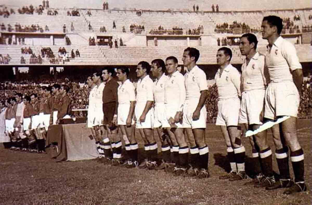 Inauguración Chamartín 1947