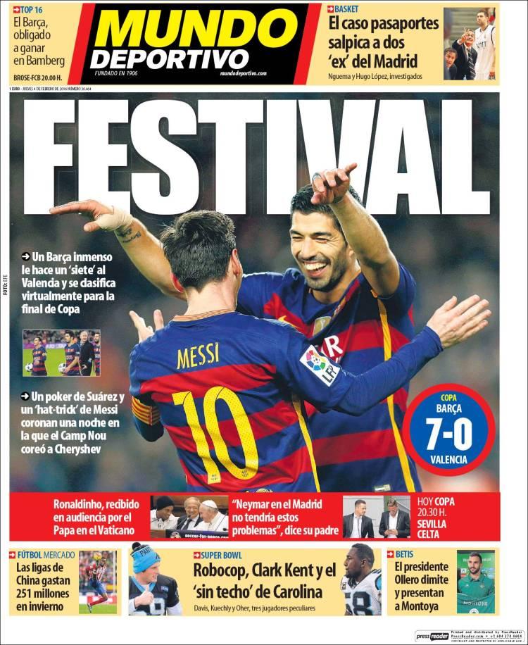 Mundo Deportivo 04.02.16