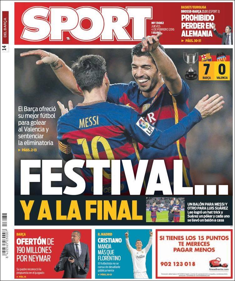 Sport Portada 04.02.16