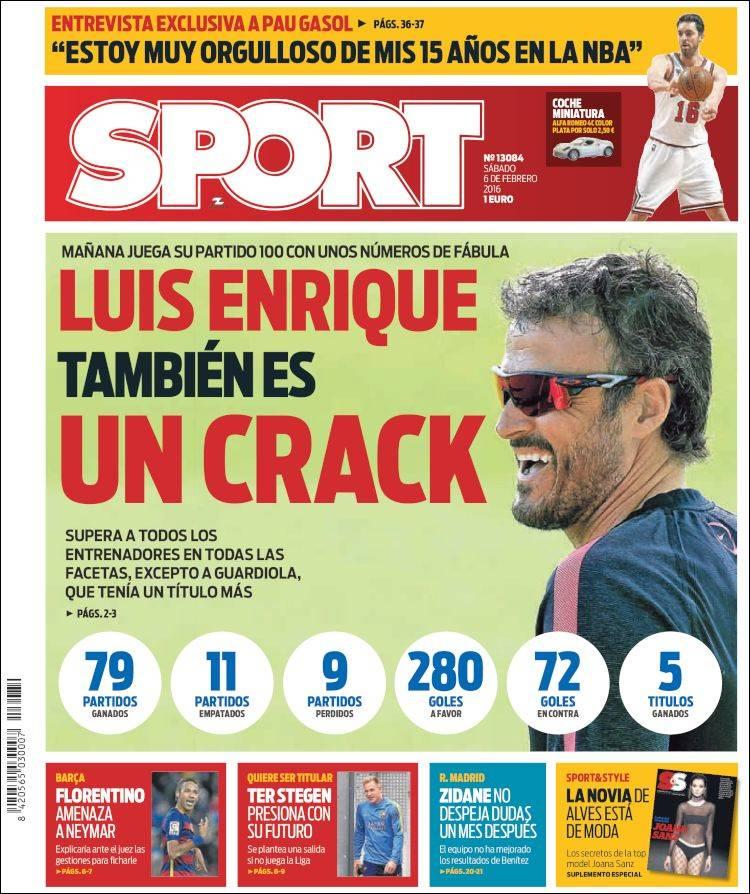 Sport Portada 06.02.16