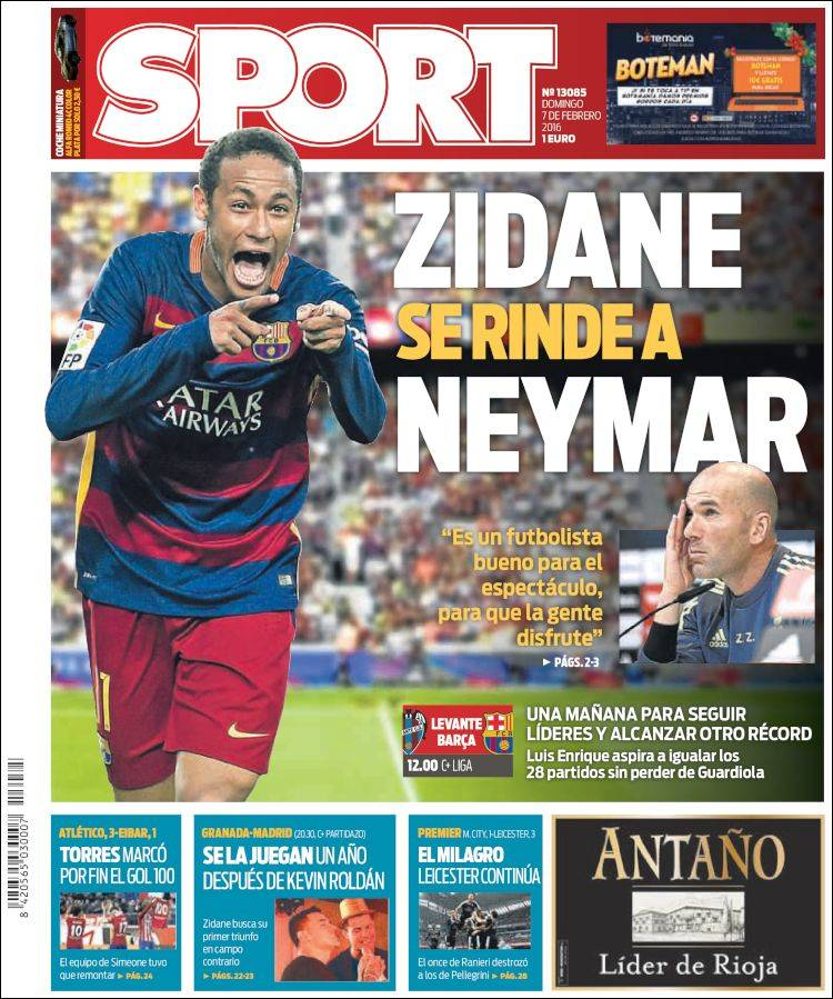 Sport Portada 07.02.16
