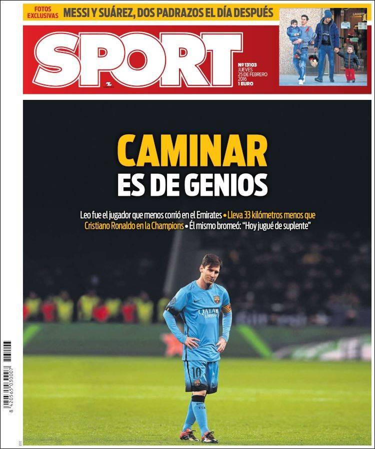 Sport Portada 25.02.16