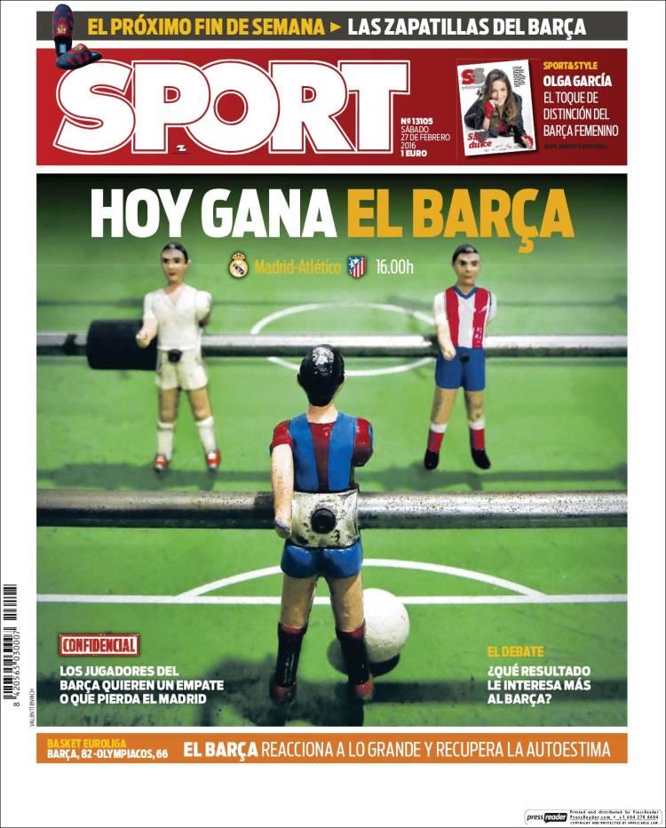 Sport Portada 27.02.16