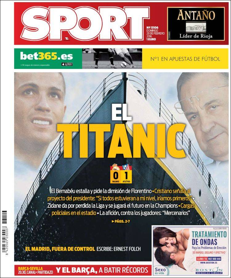 Sport Portada 28.02.16