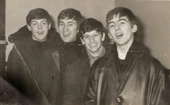 happy beatles