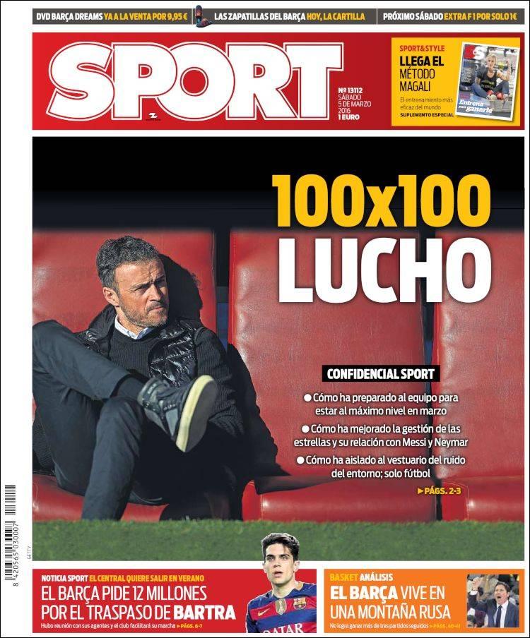 Sport Portada 05.03.16