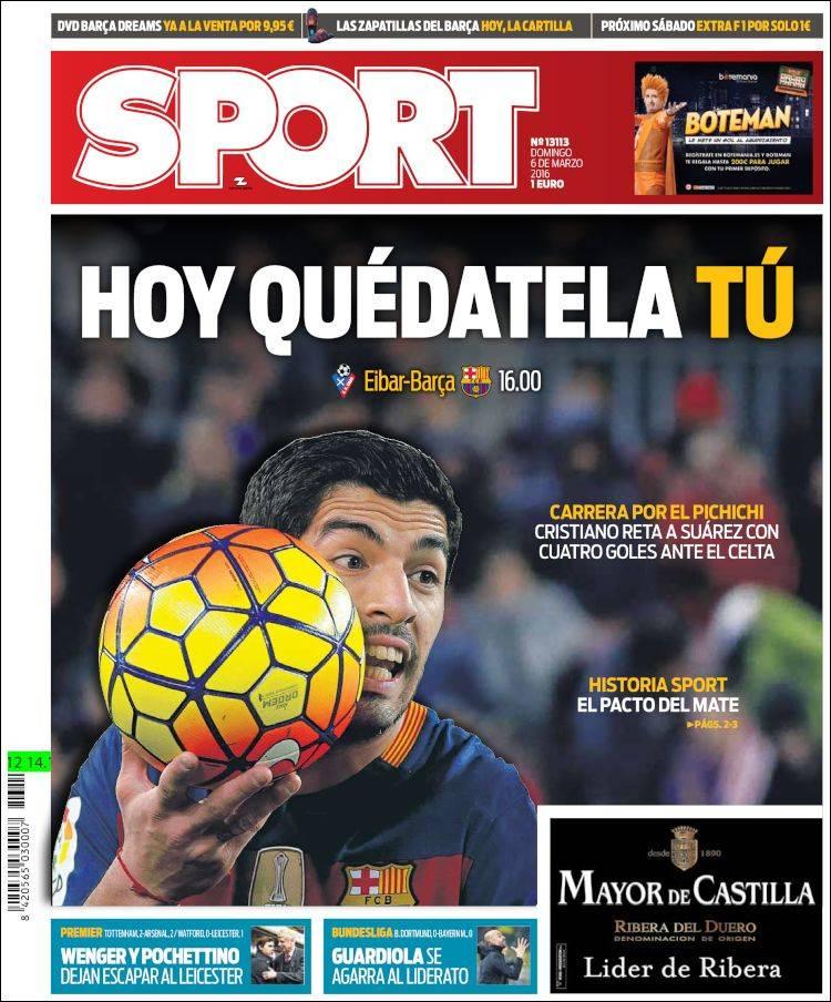 Sport Portada 06.03.16