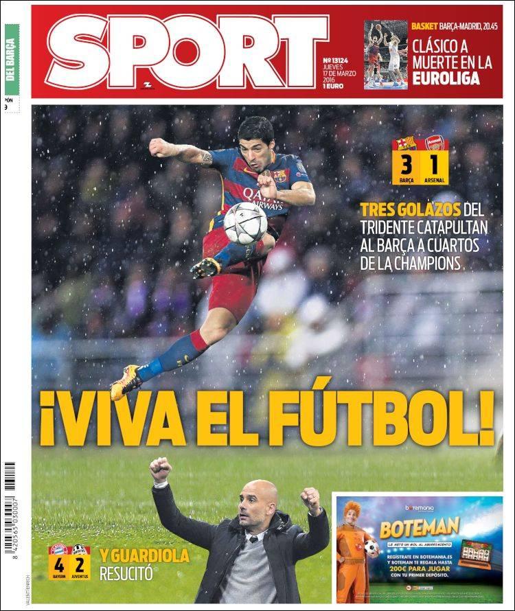 Sport Portada viva 17.03.16