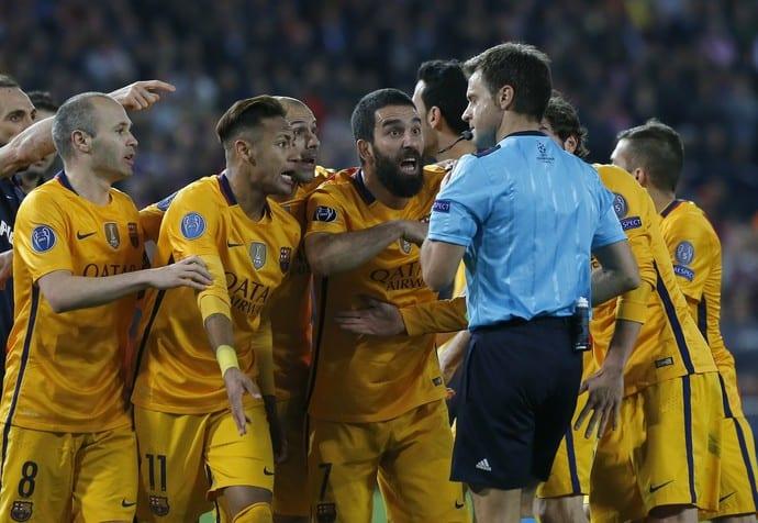 árbitro Barcelona