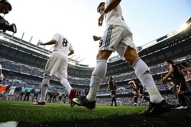 Sale al campo el Madrid