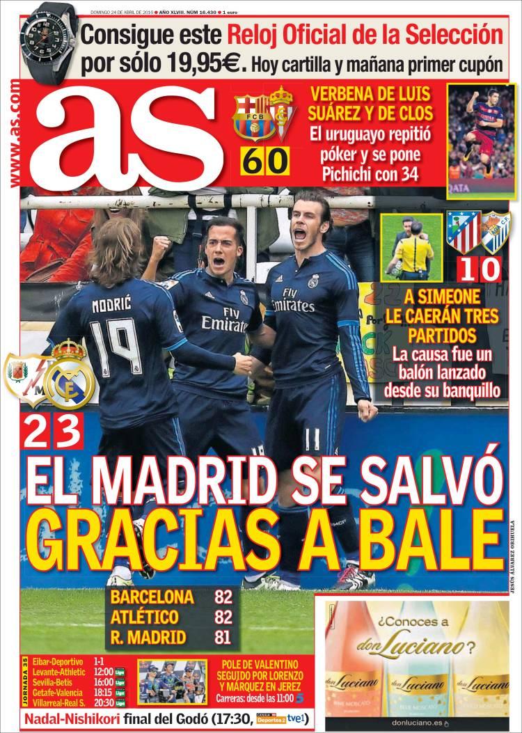 As Portada Bale 24.04.16