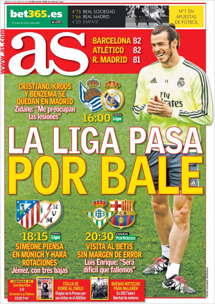 As Portada Bale 30.04.16