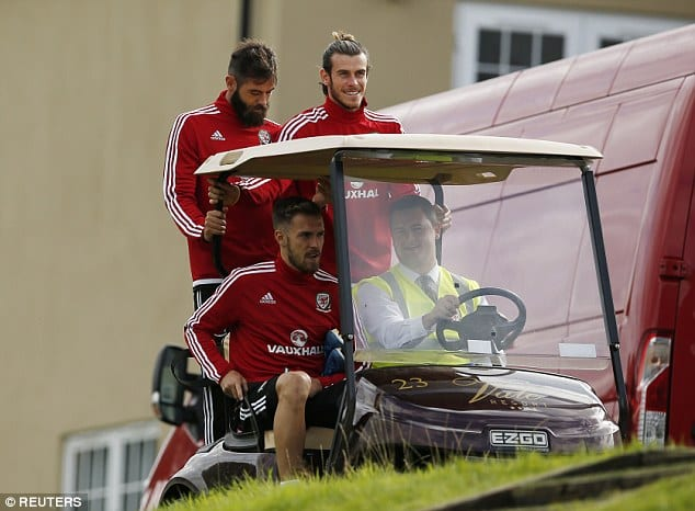 gareth y el buggy