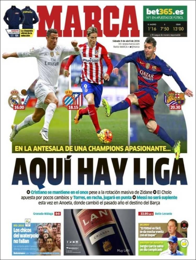 Marca Portada Hay Liga 09.04.16