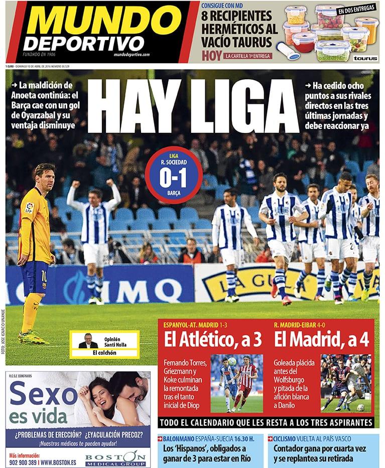 Mundo Deportivo Hay Liga 10.04.16