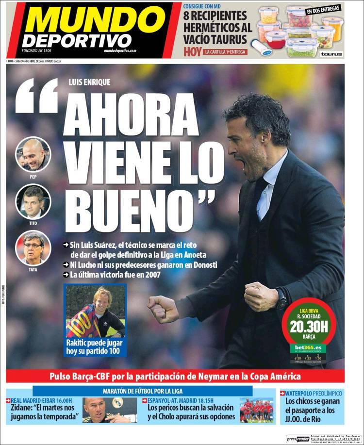Mundo Deportivo ahora viene lo bueno 09.04.16