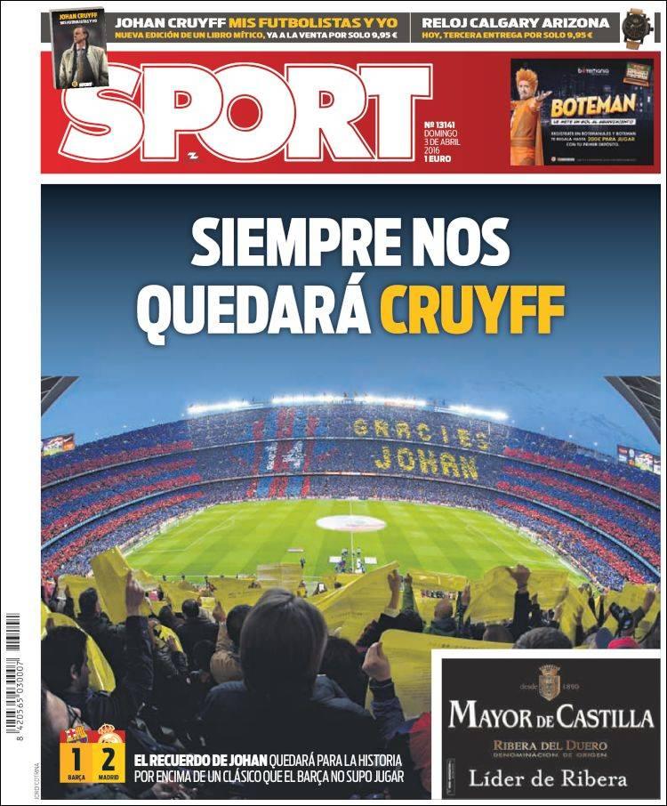 Sport Portada 03.04.16