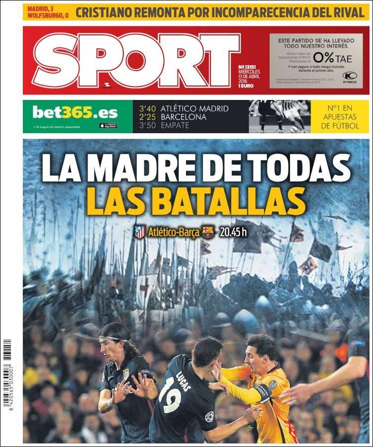 Sport Portada 13.04.16