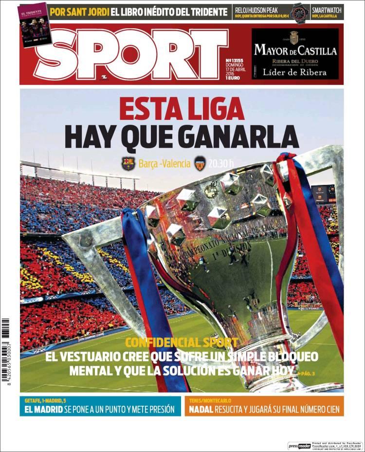 Sport Portada 17.04.16