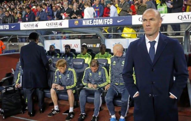Camp Nou Zidane