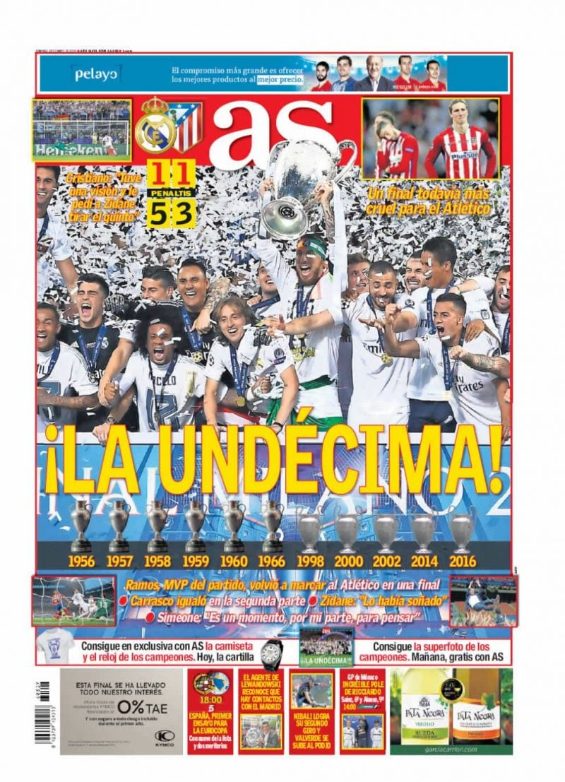 As Portada Undécima 29.05.16