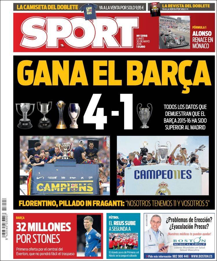 Sport Portada 30.05.16