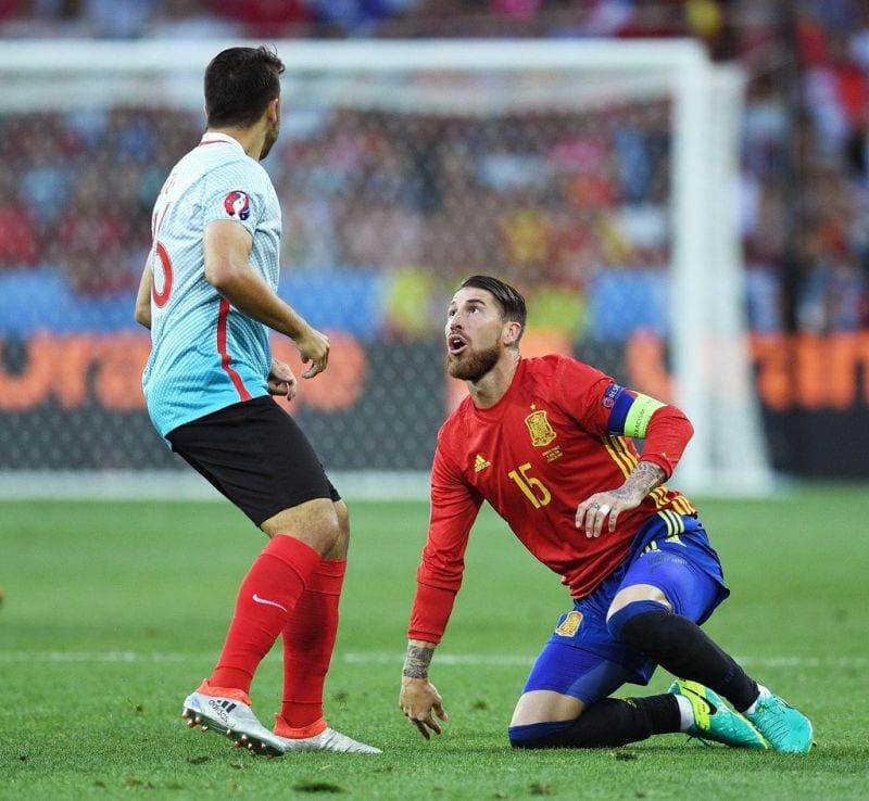 Sergio Ramos Turquía Euro 1