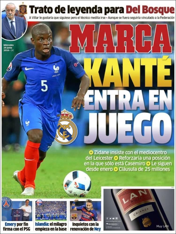 Marca Portada Kanté 29.06.16