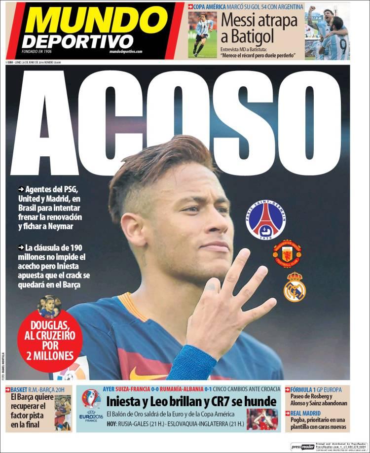 md neymar acoso