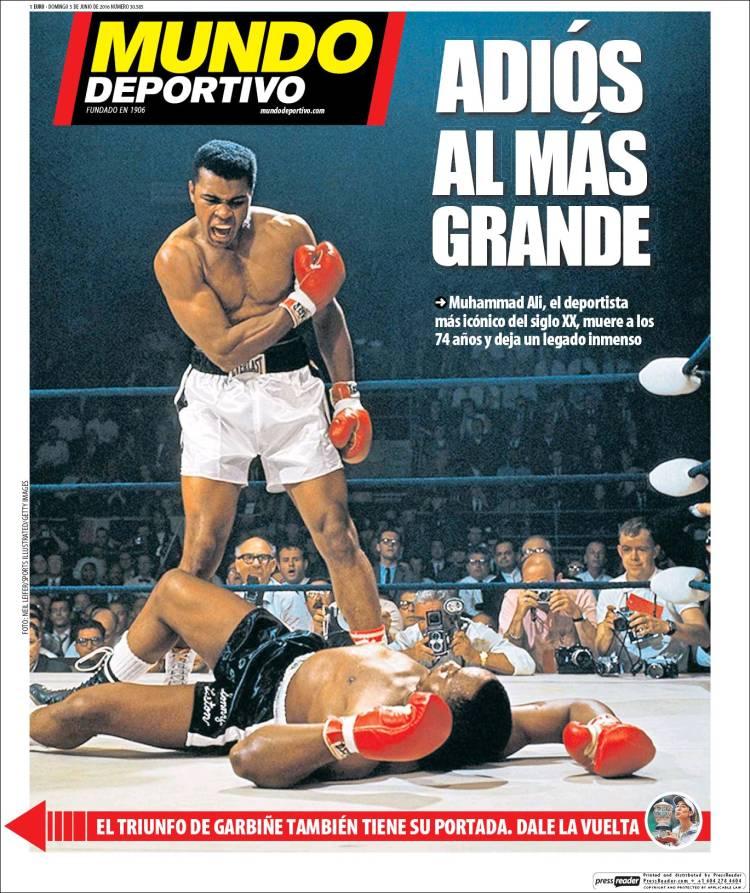 Mundo Deportivo Portada Ali 05-06-16