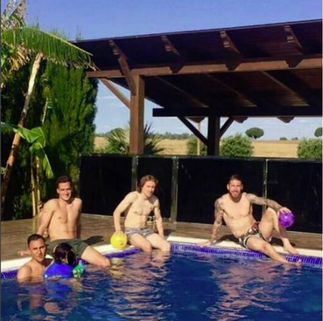 piscina sergio ramos